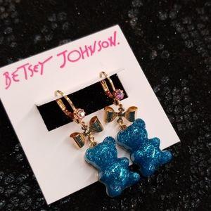 Betsey johnson gummy earrings